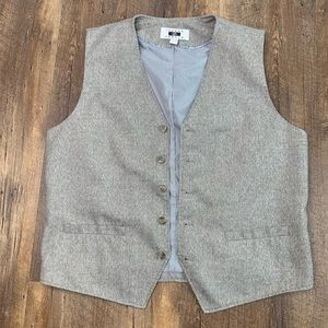 Joseph Abboud size large button up vest